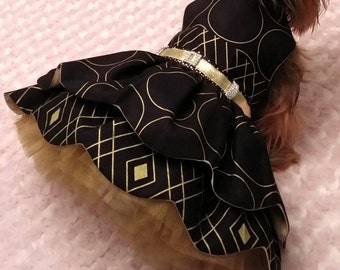 Special occasion dog dress size medium