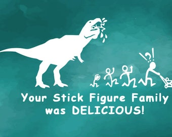 T Rex Decal Etsy