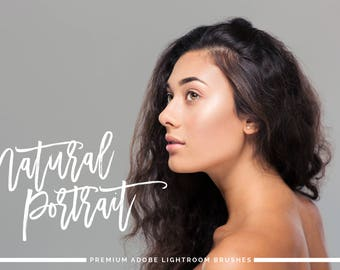 Natural Portrait Retouching Brushes for Adobe Lightroom