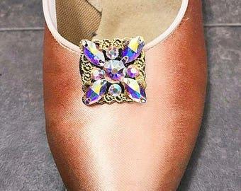 Ballroom Dance Shoe Clip (Square)
