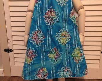 Reversible child's dress 4T