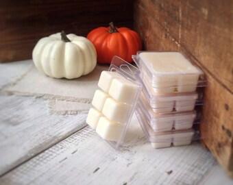 Soy Wax Melt, PUMPKIN PIE scented, soy wax melts, soy wax tarts, pumpkin spice, fall scented, harvest, holiday wax melts, festive
