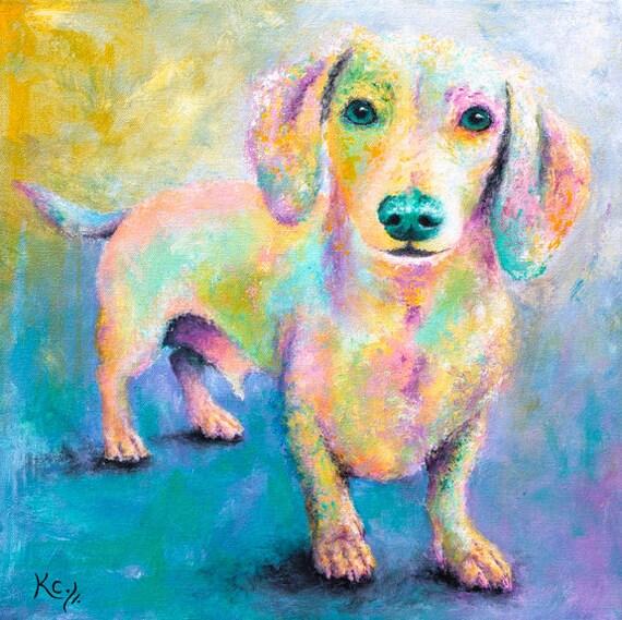 Dachshund Art Print - Wiener Dog Gifts, Doxie Lover Gift, Sausage Dog, Dachshund Print, Wiener Dog Art, Dachshund Gift, Wiener Dog Print.