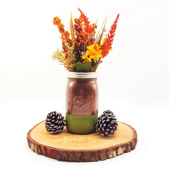 Rustic Fall Wedding Centerpieces: Rustic Fall Decor Fall Centerpiece Fall Wedding Centerpiece