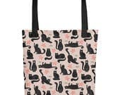 Cool Cats Tote bag   Bag   Studio Carrie   Gift