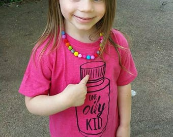 One Oily Kid Jersey Toddler Vintage T-Shirt