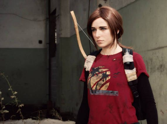 Ellie T Shirt The Last of Us inspired Cosplay Costume