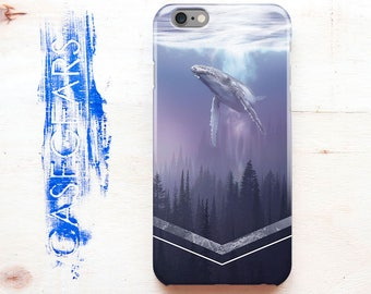 Geometry iPhone 8 Case Whale iPhone 5c Case Animal iPhone 6 Case iPhone 8 Plus Case iPhone 5s Case iPhone 6s Case for Samsung S7 Case CG1302
