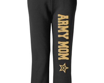 Army Mom Sweatpants Military Pants, Black Pants, Workout Pants, Sweats, Casual Pants, Mom Gift, Army Sweatpants, Army Wife, Deployment Gift