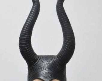 Maleficent Horns, Maleficent costume, Maleficent cosplay, Evil Horns, Black horns, Maleficent Horn Headpiece, Evil Queen Horns