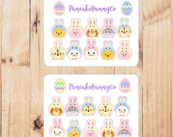 Tsum Tsum Spring Bunny Rabbit stickers