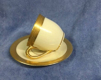 Lenox Demi Cup & Saucer - Lowell Collection