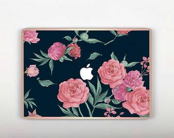 Flower Roses Mac Macbook Case Macbook Sleeve 13 Apple Mac Sleeve Cover Macbook Air Macbook Pro Cover Macbook 12 Vinyl Macbook Air 13  RS168