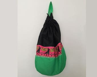 Vintage sac à dos / sac de sport / surfeur bag / sac à dos de plage / sac de plage / 90 s sac à dos / sac de seau