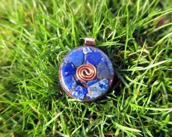 Lapis Lazuli Mini Orgonite® Necklace