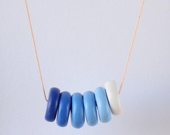 Blue Ombre Necklace