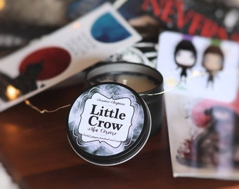 LITTLE CROW | Mia Corvere | Nevernight Inspired | Handmade Soy Candle
