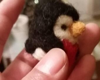 Needle Felting Penguin