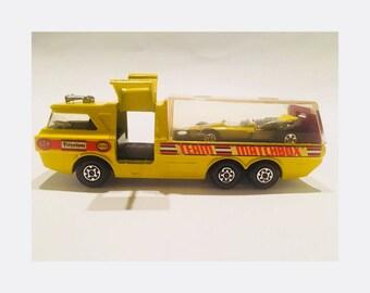 Vintage Matchbox Super Kings / Racing Car Transporter / K-7 / 1972