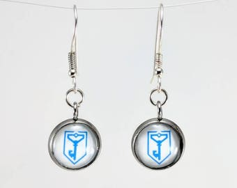 Ingress Resistance Earrings - White