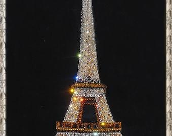 The Eiffel Tower, Rhinestonen Eiffel Tower