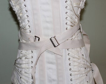 Truform vintage medical corset with multi lacing, vintage 1950's, size 38