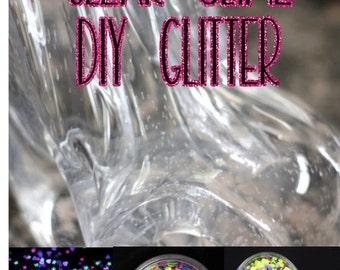 Clear Slime ~ DIY Clear Slime ~ Glitter Slime
