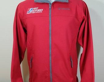 COLUMBIA Mens S INTERCHANGE Jacket red sage