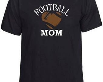 Football Mom #1   Football   Women's T-Shirt