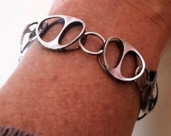 Karl Laine design bracelet silver 925 Finland 1973