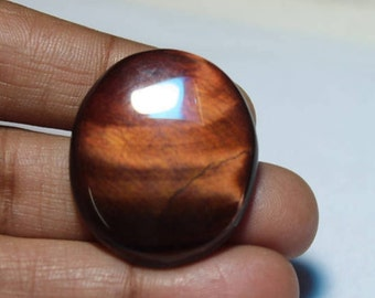 Red Tiger Eye Cabochon 37ct{28 X 23} mm # 2151