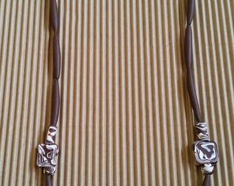 Polymer clay jewelry - Fashion jewelry necklace - Modern jewelry - Necklaces for women - Jewelry handmade - Accessories jewelry for women
