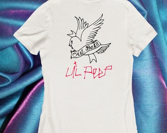 Lil Peep, cry baby, very rare graphic T shirt