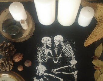 Lovers of Valdaro - Back-Patch - Punk Patch - Witch Patch - Goth Patch - Sew-on Patch