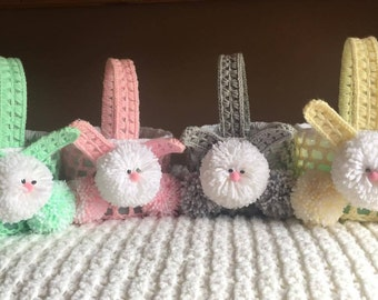 Easter Bunny Baskets - Made to Order and Free Shipping