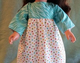 Springtime Dots Doll Dress
