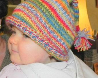 Baby or Toddler's French Stocking Cap Pattern PDF