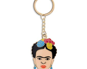 Frida, Frida Kahlo, Keychain, Key Chain, Art, Artist, Gift (Item Key11)