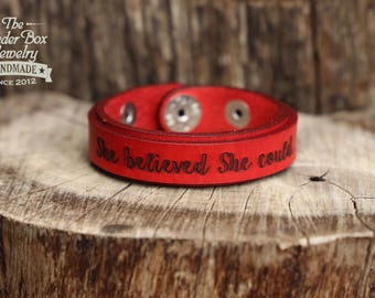 Personalized leather bracelet with hidden message couples leather bracelet hidden message bracelet engraved leather bracelet