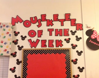 Mouseketeer (Student) of the Week - Mickey Mouse Classroom