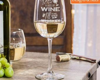 Funny Wine Glasses, Custom Wine Glasses, 21st Birthday Gift, Wine Glasses For Friends, Housewarming Gift, Birthday Party Glasses