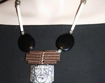 Art deco necklace - the LION King!