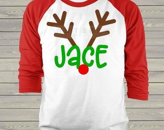 Boy Reindeer svg   boy christmas svg   boy christmas dxf   antlers svg   christmas antlers svg   boy svg   boy svg files   cricut svg