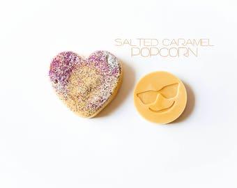 Salted Caramel Popcorn Wax Melts (2.6 Oz.) - Emoji Wax Melts - Wax Tarts - Hand Poured Wax Melts - Salted Caramel Popcorn - Wax Tart - Wax