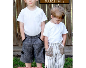 Boys Patterns, Boys Sewing Patterns Cargo Pant Boys Pants Pattern Sewing Patterns Kids Pants Pattern Childrens Patterns Sizes 6 months to 5