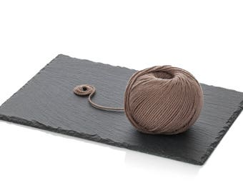 Light Worsted Merino Yarn - Taupe Wool Yarn DK - Superwash Soft Merino Yarn - Cedar Knitting Yarn 8-ply - Merino wool - Brown Crochet Yarn