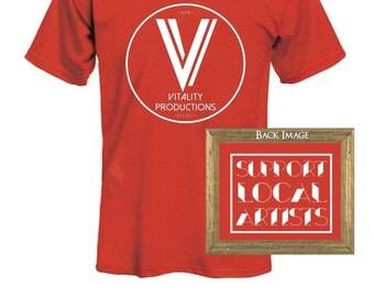 """Vitality """"Staff Circle"""" shirt"""