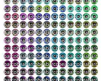 Printable Eyechips 14, 13, 12, 10mm