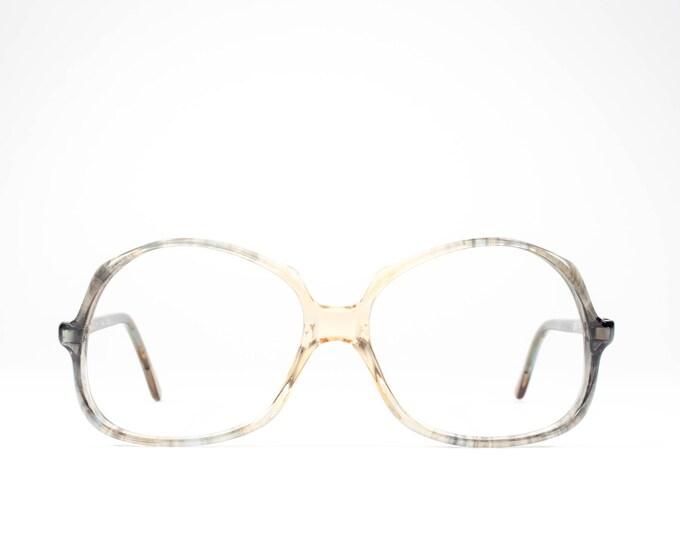 Vintage 1970s Eyeglass Frame | 70s Glasses | Oversized Eyeglasses | Seventies Deadstock Eyewear - Douce 03