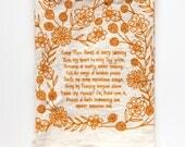 Hymn Tea Towel Come Thou Fount stove top decor stovetop decoration housewarming decor teacher gift ideas table decoration mothers day